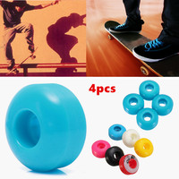 4pcs Skateboard Wheels Longboard Skate board for rough grounds asphalt road half pipe etc
