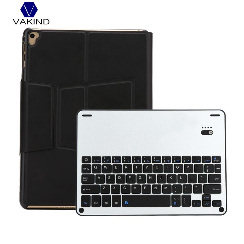 Wireless Bluetooth Keyboard Case Detachable Leather Bluetooth Tablet Keyboard Cover For iPad air air2 iPad pro 9.7 2.43*1.75*2cm for ipad pro 12 9 keyboard case magnetic detachable wireless bluetooth keyboard cover folio pu leather case for ipad 12 9 cover