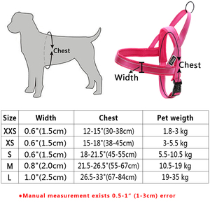 Image 5 - No Pull Reflective Dog Harness Leash Set Pet Vest Lead For Small Meduim Large Dogs Perfect for Daily Training Walking XXS L