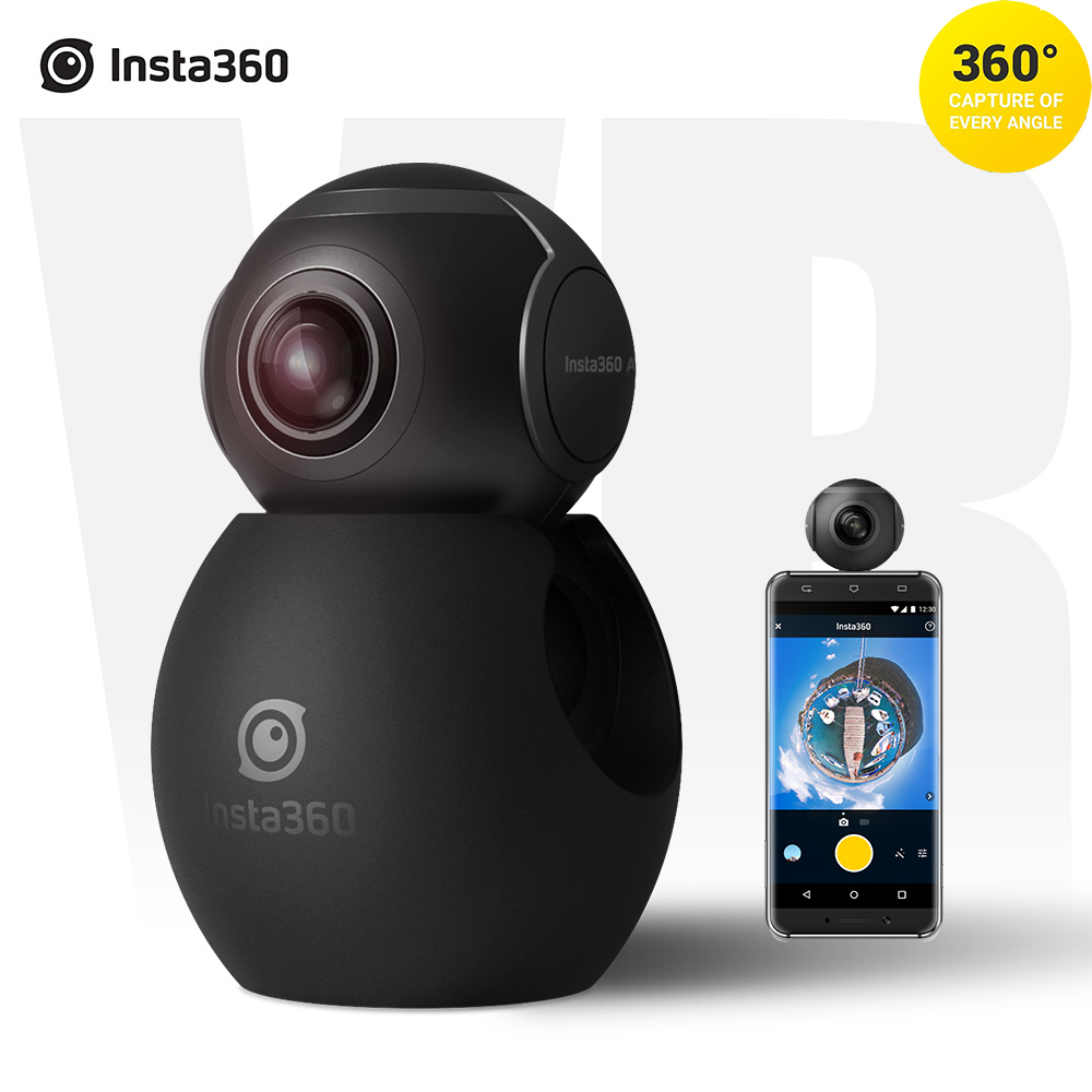 buy insta360 air panoramic 360 camera 3k hd mini camera dual wide lens vr 360. Black Bedroom Furniture Sets. Home Design Ideas