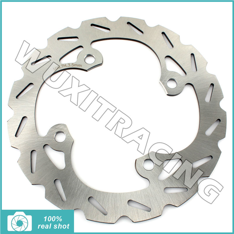 99 00 01 02 03 04 05 06 07 08 ATV QUAD DIRT Bike Rear Brake Disc Rotor for Honda TRX 400 EX Fourtrax Sportrax / X 09 10 11 12 кронштейн фары fz600 6 fz6n 05 06 07 08 atv