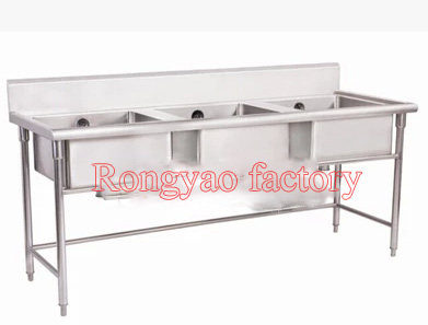 RY Single Tap 3 Kitchen Tank Stainless Steel Countertop On Sales Cleaning  Vegetable Fruit