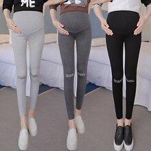 2018 Sommarbyxor för gravida kvinnor justerbara stora Storlek moderskap leggings olika stilar gravid leggings gratis frakt