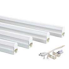 4pcs LED Tube Bar Lamp T5 1ft 30cm 5W 2ft 60cm 10W 220V 230V 110V Cold White Warm White LED Fluorescent Tube