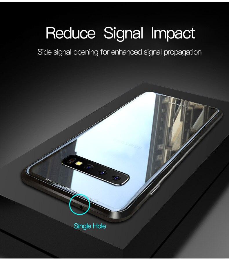 Samsung S10 Plus S10e magnet glass Case (4)
