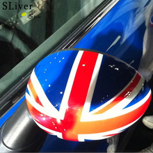 купить 2pcs Car Rearview Mirror Body Stickers Stretch Car Stickers For BMW MINI COOPER CLUBMAN COUNTRYMAN PEACEMAN R55 R56 R57 R58 R59 дешево