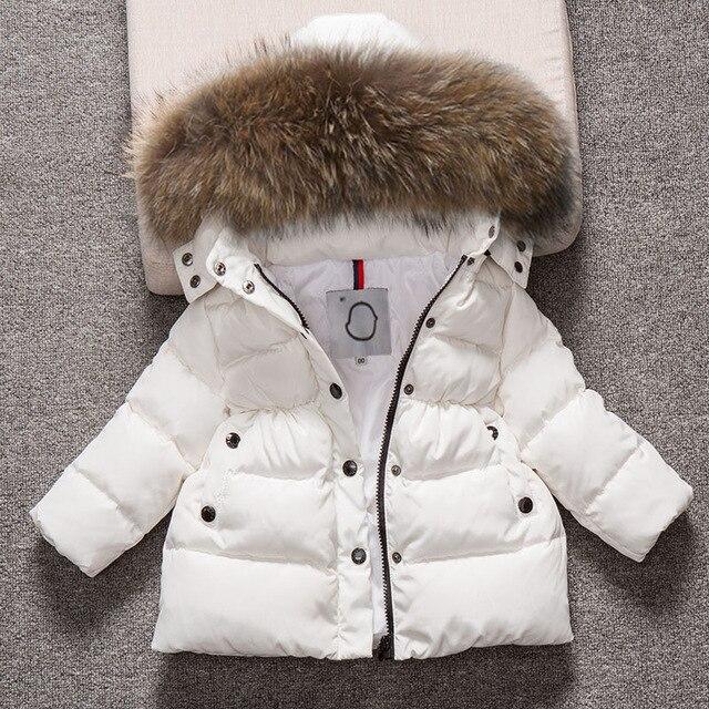 Детский зимний комбинезон с капюшоном для мальчиков, зимнее пальто, зимняя одежда, пуховая хлопковая теплая детская зимняя верхняя одежда, пальто, пуховые парки с меховым воротником, От 4 до 13 лет