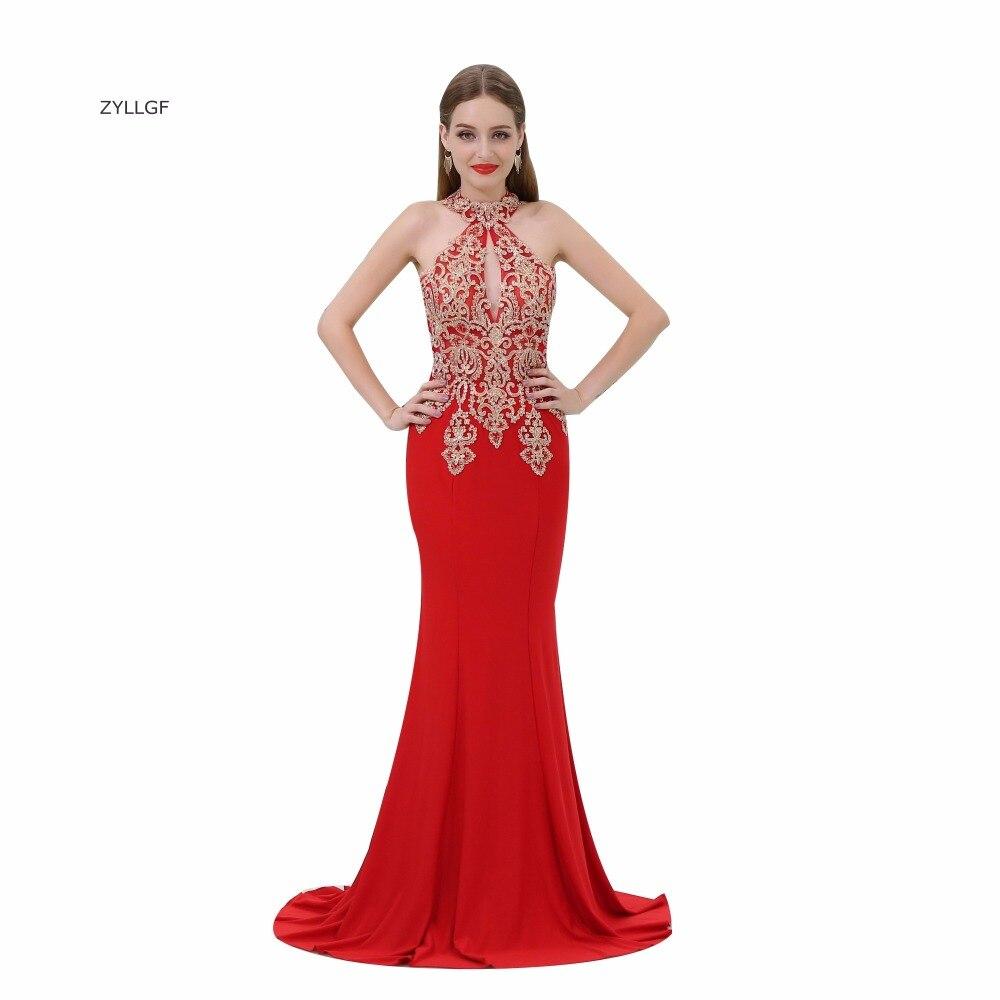 Red Mermaid Bridesmaid Dresses