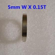 3M 5mm x 0.15 Ni Plate Nickel Strip Tape For Li 18650 18500 Battery Spot Welding(China (Mainland))