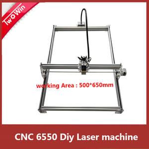 6550 DIY CNC machine Laser Engraving Machine wood router Mini