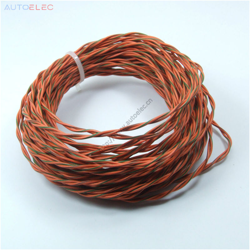 500 Meters twisted Can bus 22awg PVC Electronic Wire Electronic Cable for car ECU Repair Wire VW, Audi, Skoda Golf, Passat