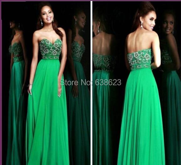 buy popular 97f2f 228b4 Vestiti da sera verde smeraldo – Vestiti da cerimonia