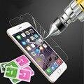 Para apple iphone 7 6 6 s 5 5c 5S 4 s plus nano película mejor vidrio templado protector de pantalla para samsung galaxy s4 s5 s6 note 3 4 5