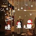Ano novo Criativo adesivos de parede decoração casa decorações de natal para casa adesivos de parede home decor sala decoracion hogar