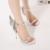 Novo 2017 Verão Mulheres Sexy de Salto Alto Sapatos de senhora Sapatas Do Partido Das Mulheres Bombas Pigalle Personalidade Borboleta sandálias Estiletes