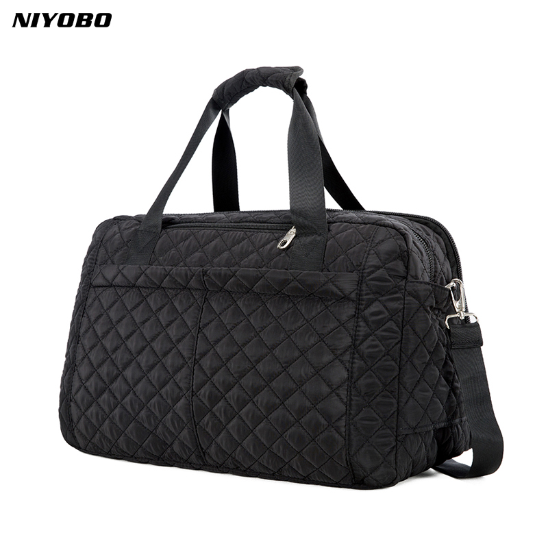 NIYOBO 2018 New Arrive Large Capacity Women Travel Bags Men's Handbag Casual Shoulder Luggage Bag Female Hand Travel Tote Bag