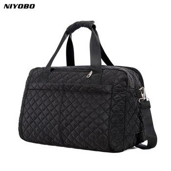 c1cff34eaf7b NIYOBO 2018 Новое поступление большой емкости женские дорожные сумки  Мужская сумка повседневная сумка на плечо багажная сумка Женская Ручная до.