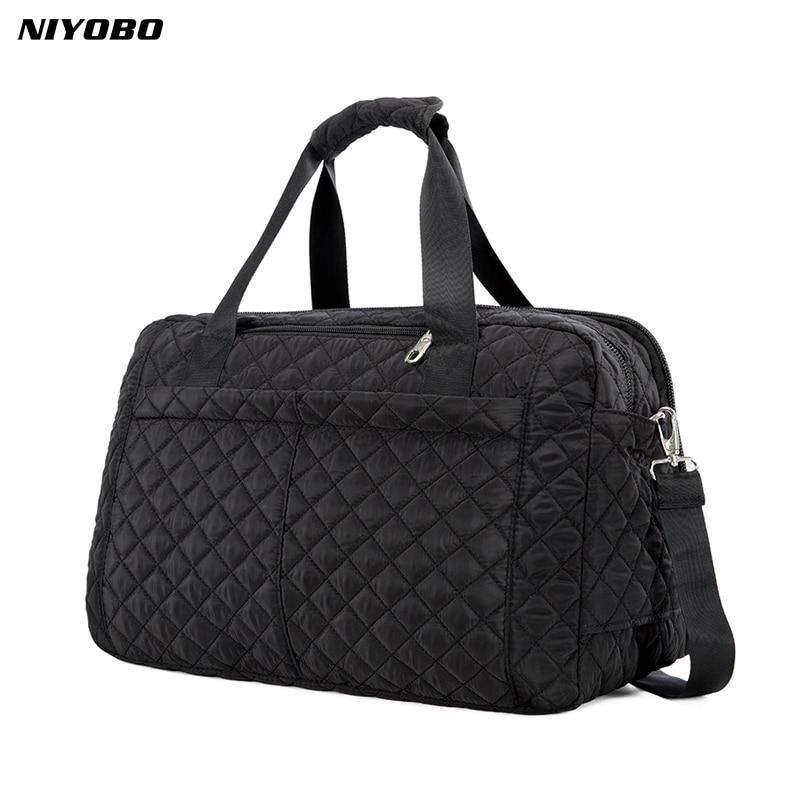 NIYOBO 2018 New Arrive Large Capacity Women Travel Bags Men's Handbag Casual Shoulder Luggage Bag Female Hand Travel Tote Bag