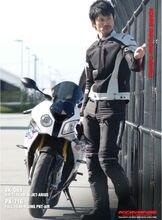 Новый дизайн гоночных Одежда JK-069 воздушного потока сетки куртка Арий