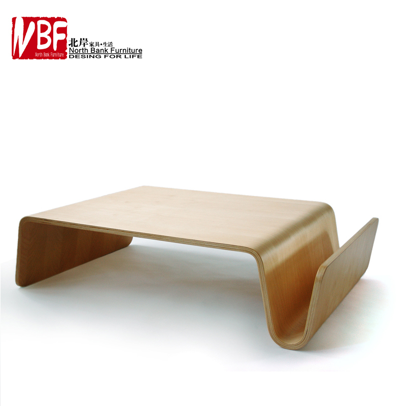 North S Simple Curved Wooden Furniture Large Coffee Table Ikea Sofa European Fashion Creative Living Room Tatam