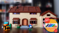 16005 2575Pcs The Simpsons House Model Building Block Bricks Compatible 71006 Boy Gift LEPIN