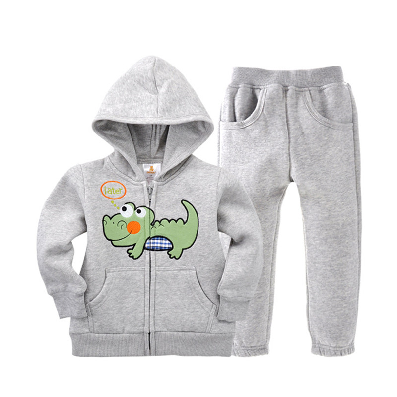 2pcs Suit Children Clothing Sets Cartoon Baby Kids Sportswear Child Hoodies Jacket & Pants 1- 5 Years Spring Clothes cotton New 2016 hot children clothing set baby girls boys autumn spring suit hoodies pants cartoon clothes kids sportswear kids clothes