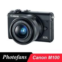 Беззеркальная цифровая камера Canon M100 с объективом 15-45 мм