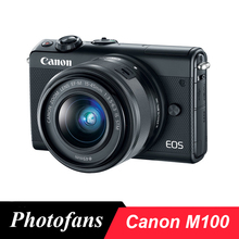 Canon M100 Mirrorless Digital Camera with 15-45mm Lens(China)
