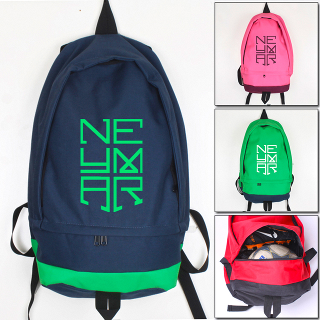 sneakers for cheap e2a30 e00b3 Neymar anime Bolsas Boy mochilas viaje pie bola Oxford hombres bagpack  adolescentes mochila niños escuela bolsa