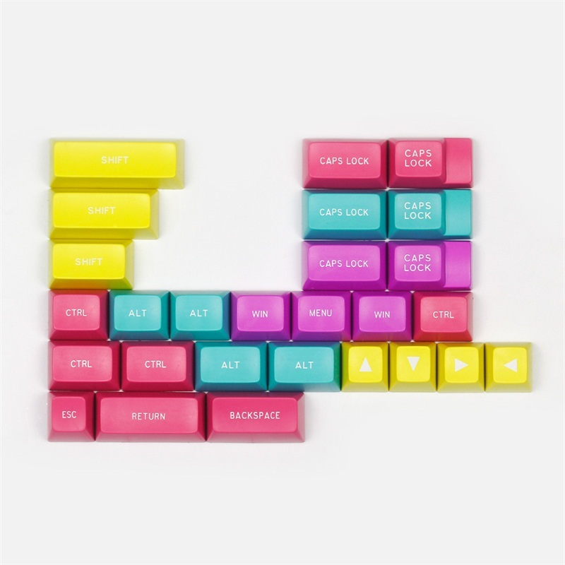 MAXKEY SA Profile Keycap CMYW Plus 27keys