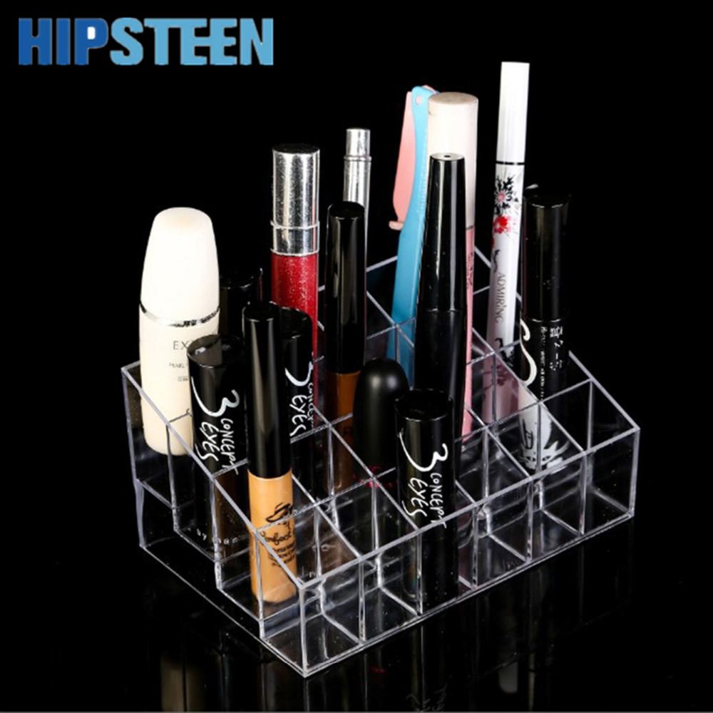 Exhibition Stand Organisers : Hipsteen lipstick holder display stand clear acrylic
