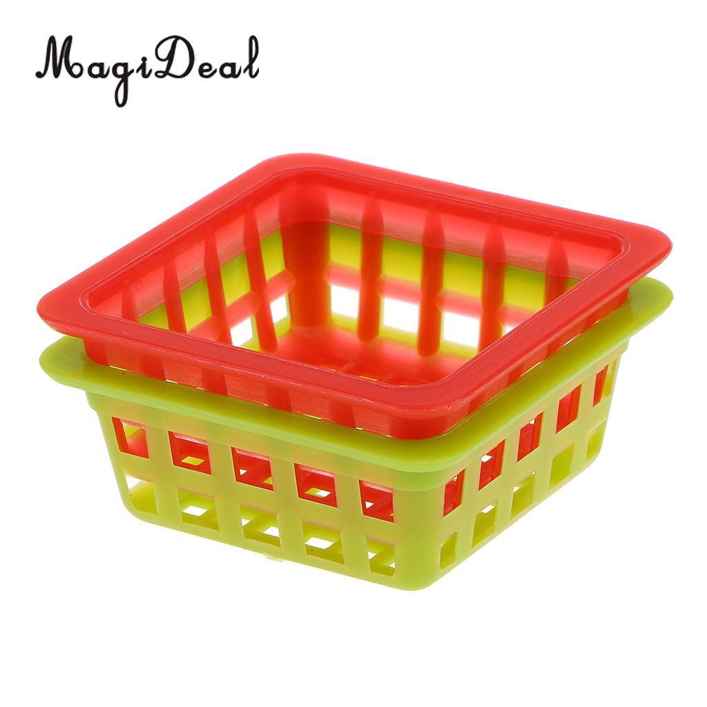 1:12 Scale Dollhouse Miniature Square Basket Kit