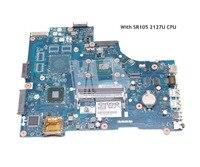 NOKOTION VAW00 LA 9104P CN 03H0VW 03H0VW MAIN BOARD For dell inspiron 15 3521 5521 Laptop Motherboard SR105 2127U CPU
