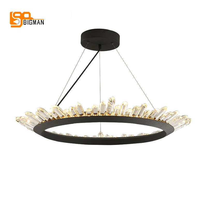 new brief design crystal chandelier modern lighting for living room dinning room lustre cristal lampadari LED light new design rgb led crystal light modern dinning room crystal chandelier with remote control