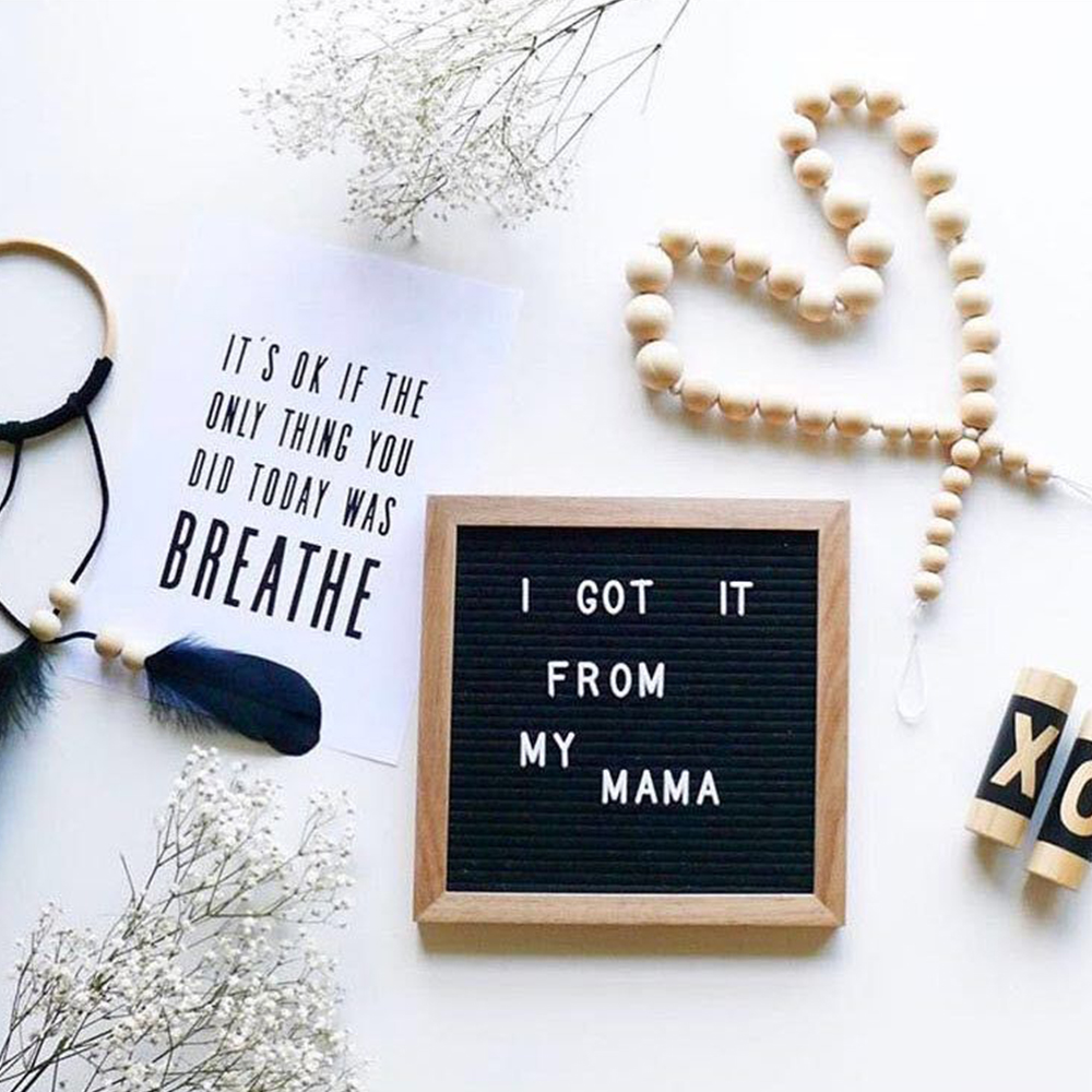 Office Customizable Letter Sign Board