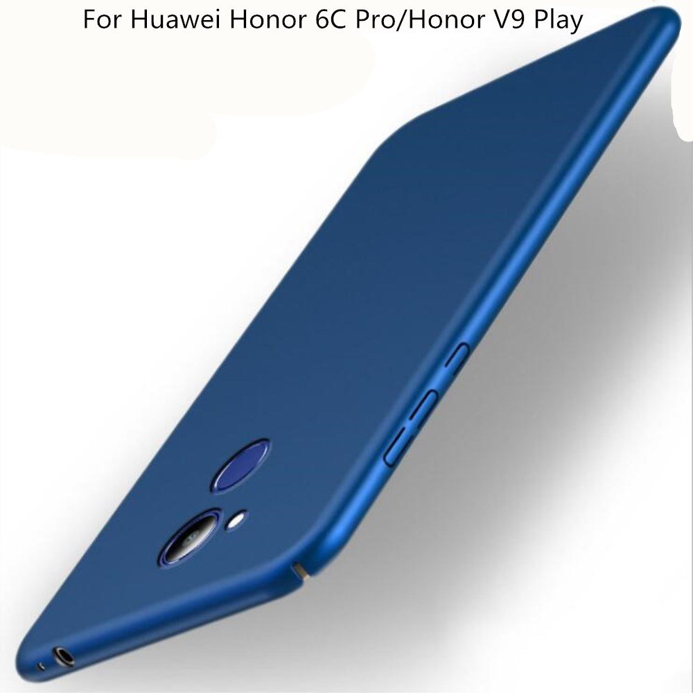 For Huawei Honor 6c Pro 5.2 Case 360 Protection Slim Matte Hard Plastic Back Cover for Huawei V9 Play Phone Cases Housing