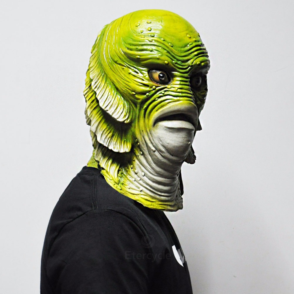 aliexpress : buy scary monster latex fish mask creature from the