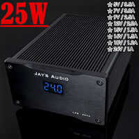 2018 New Nobsound Hi end HiFi 25W Ultra Low Noise Linear Power Supply Regulated DC 5V 24V for Amplifier Audio DAC