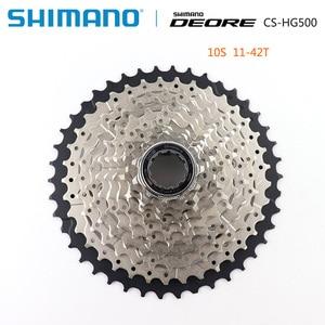 Image 2 - SHIMANO DEORE M6000 CS M4100 HG500 HG50 10 Speed Mountain Bike freewheel MTB CASSETTE SPROCKET 11 36T 11 42T