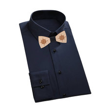 Top Sell Novelty Bowtie Butterfly Ties For Men Wooden Bow Tie Classic Style Man Accesorry