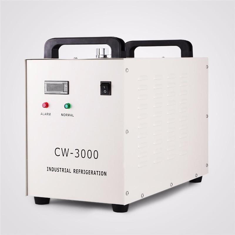 Thermolysis Industrial Water Cooler Chiller For Laser Engraver Engraving Machines CW-3000 220V 110V Alternative