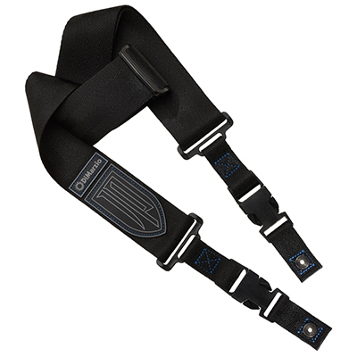 DiMarzio 2 John Petrucci Nylon Cliplock Guitar Strap in Black dimarzio 2 inch nylon strap w leather ends black dd3100nbk