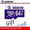 Xedain classe 10 cartão micro sd 64 gb 32 gb 16 gb 8 gb de memória UHS-1 cartão Microsd de 8 GB Classe 10 cartão de Memória Flash para o Smartphone/Tablet
