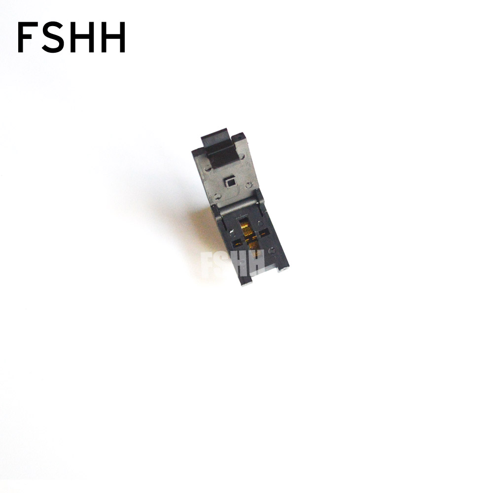 FSHH QFN14 test socket WSON14 UDFN14 MLF14 ic socket Pin pitch=0.4mm Size=3x3mmFSHH QFN14 test socket WSON14 UDFN14 MLF14 ic socket Pin pitch=0.4mm Size=3x3mm