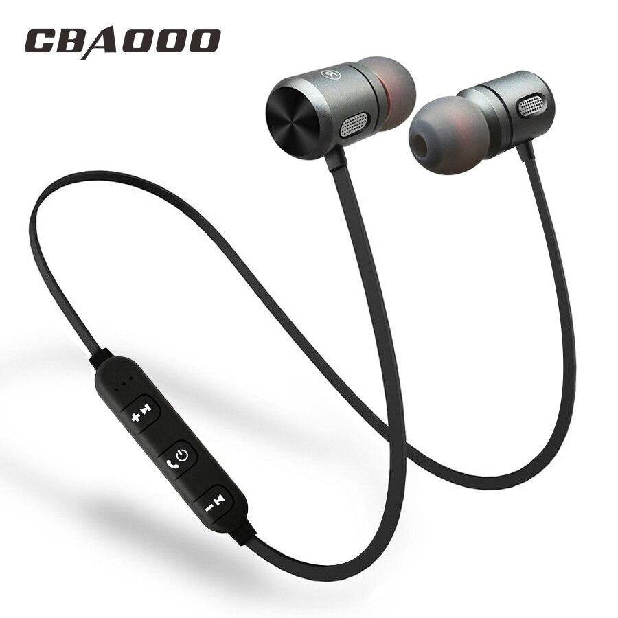 CBAOOO Bluetooth Drahtlose Kopfhörer Bluetooth headset Sport In Ohr Magnetische Drahtlose Ohrhörer Ohrhörer Mit Mikrofon Für Handy