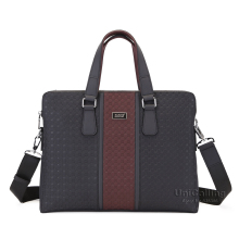 Brand high quality genuine leather handbag fashion real leather men's business briefcase bag
