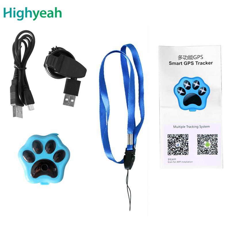Pet Gps Tracker RF-V30 Waterproof IP66 WIFI GPS GSM GPRS Tracking Dog - Kereta Elektronik