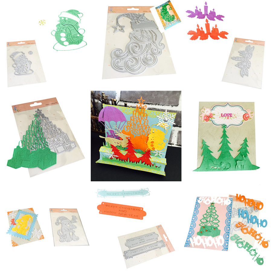 New scrapbook craft dies scrapbooking die 3d stamp diy for Craft supplies for card making