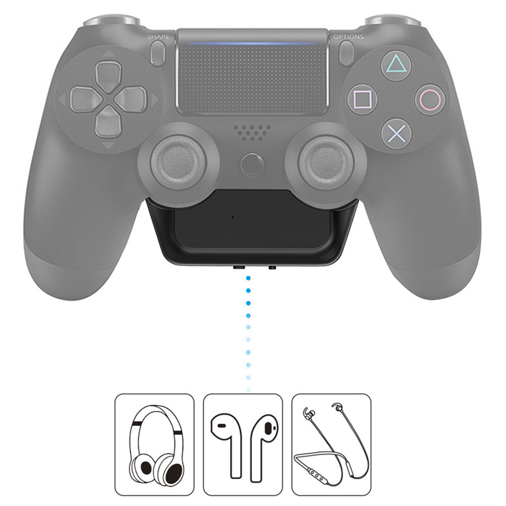 5 0 Bluetooth Adapter For Sony Ps4 Playstation 4 Gamepad Connect With Wireless Audio Bluetooth Headset Receiver Converter Replacement Parts Accessories Aliexpress