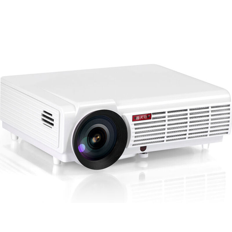 YOTEEN LED96 Wifi BT96 Projector 3000lms Android 4.4 Projector 1080p Video 3D LED Game Movie Video HDMI USB VGA Home Projectors